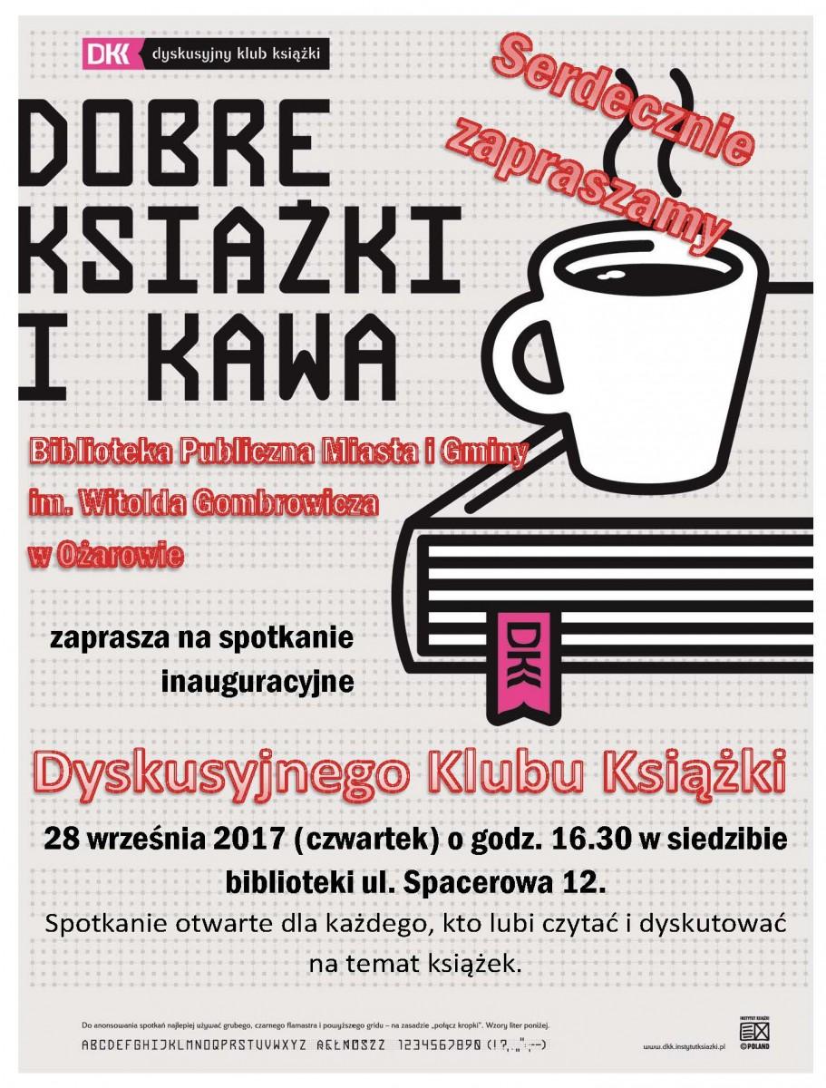 Plakat inauguracja DKK