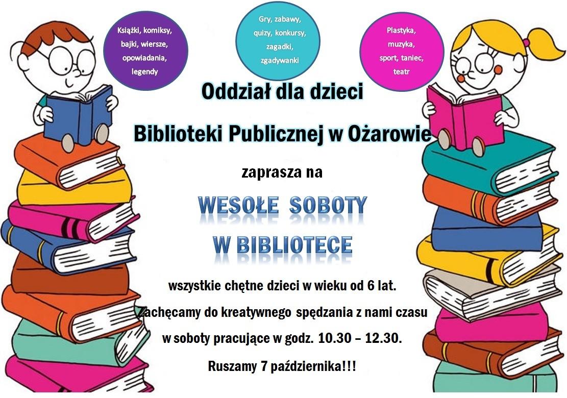 Plakat Wesołe Soboty